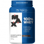 100% Whey Protein Concentrate 900G Chocolate Max Titanium - Mkp000670000295