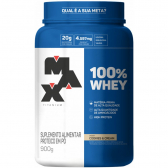 100% Whey Protein Concentrate 900G Cookies Max Titanium - Mkp000670000296