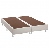 Base Para Cama Box King Ortobom 193X203Cm Courino Branco - Mkp000627004233