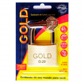 Cadeado Gold G-20Mm Latão Sm Hugo Boss - Mkp000335004287