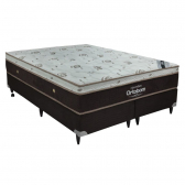 Cama Box + Colchão Queen Size Bellagio Pocket Latex Ortobom - Mkp000374000038