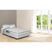 Conjunto Box Completo Queen Vision Pillow Top Becflex - Mkp000119000037