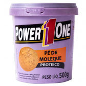 Pasta Integral Amendoim 500G Pé de Moleque Power One - Mkp000670000069