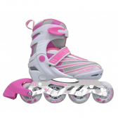Patins In Line Ajustável Rosa Winmax Wme05886A2M - Mkp000028000139
