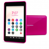 Tablet 7Pol. Quadcore 1Gb 8Gb Android 8.1 Go Rosa  Everex - Mkp000535000149