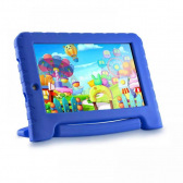 Tablet Kid Pad Plus Nb278 Azul Tela 7'' Wi-Fi, 8Gb, Bluetooth, Câmera Frontal E Traseira Quad-Core Multilaser - Mkp000315006567
