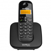 Telefone Sem Fio Ts 3110, Display Luminoso Preto Intelbras - Mkp000335000679